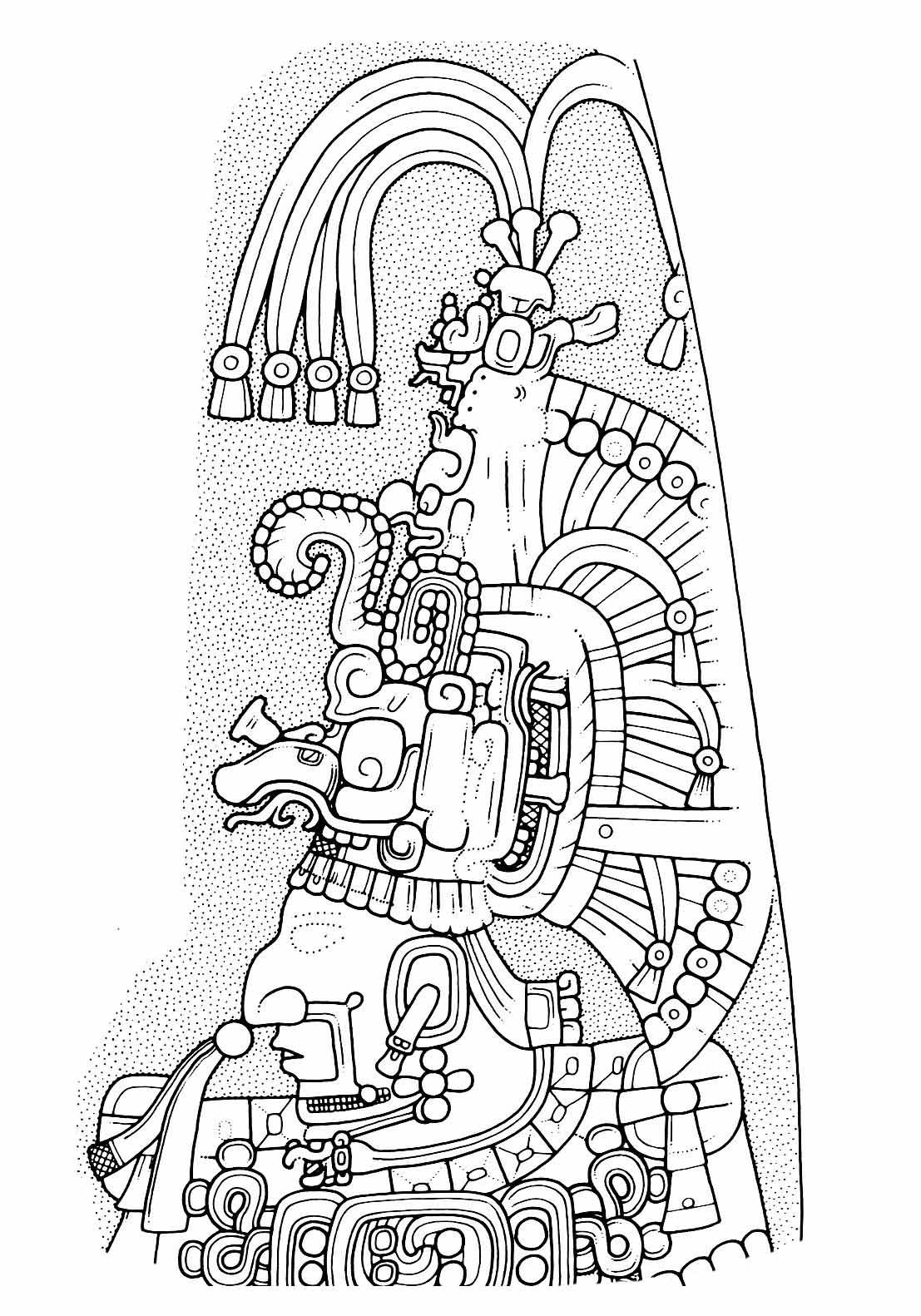 Simple Mayan Calendar Drawing : Simple mayan drawings imgkid the image kid has it