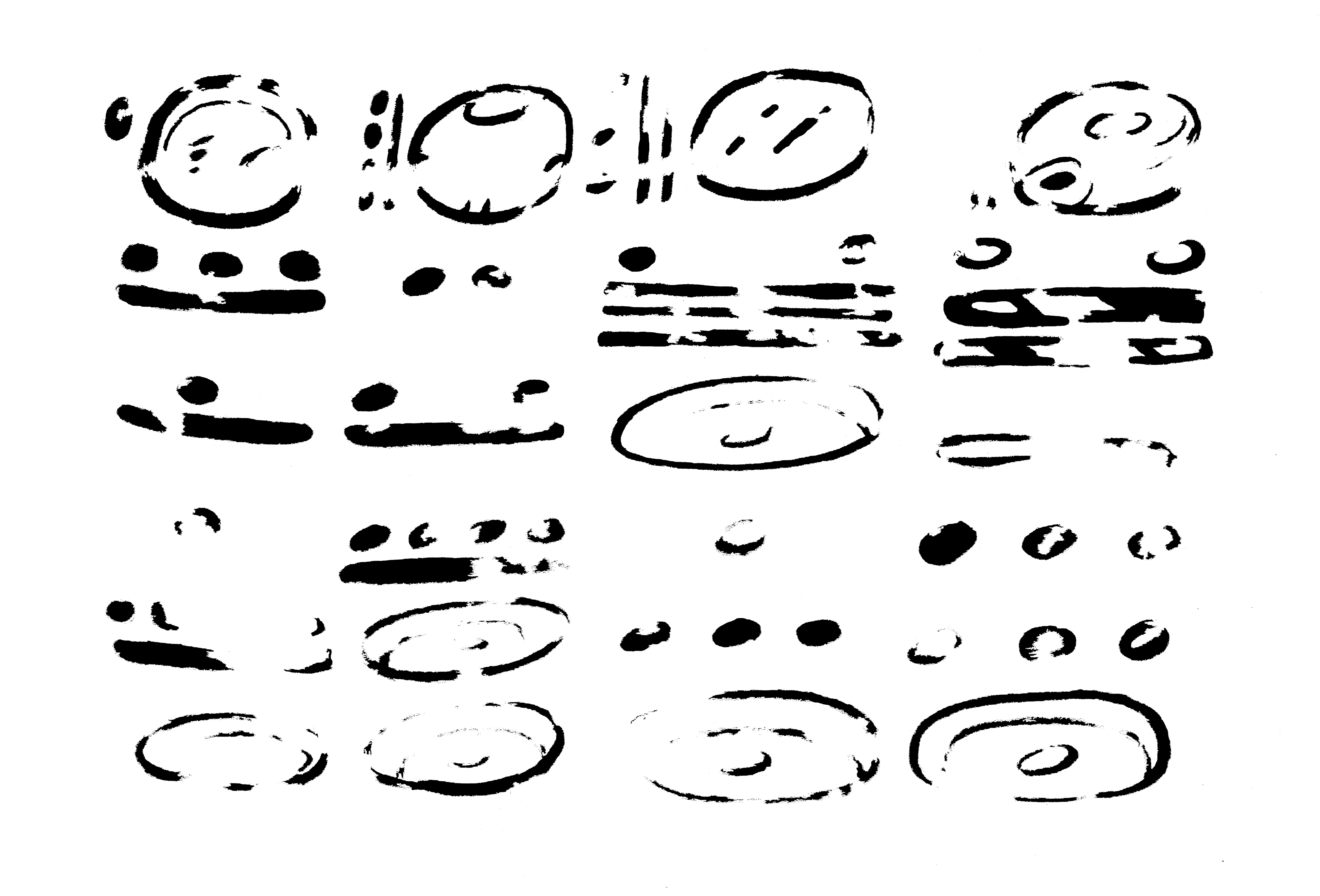 Line Drawing Numbers : Drawings of mayan astronomy pics about space