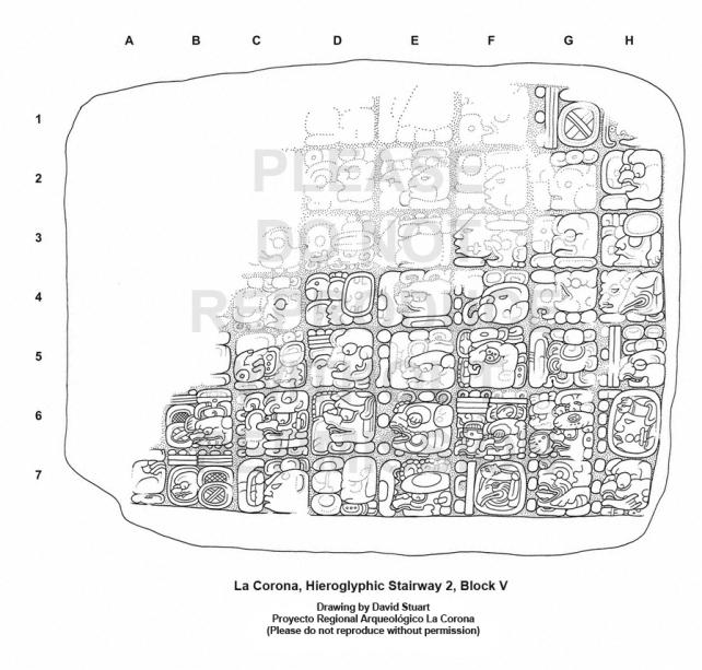 Notes on a New Text from La Corona « Maya Decipherment