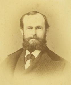 Daniel Garrison Brinton, 1837-1899, at age 34, ca. 1871.