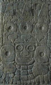 Stela 31 Tlaloc shield