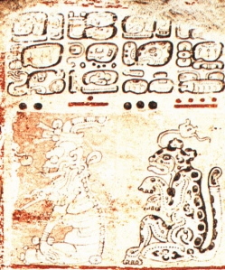 Figure 3. Summons of gods (Dresden 8a).