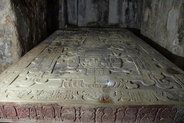 Palenque sarcophagus top