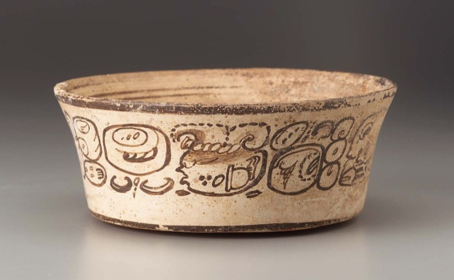 Figure 1. Chile sauce vessel in the collections of the Museum of Fine Arts, Boston. Accession no. 1988.1264.