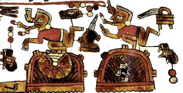 Figure 1 Codex Selden Page 7 Band III